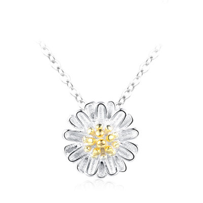 Daisy 925 Sterling Silver Necklace