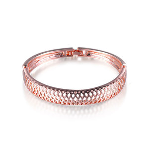 Cut Out Mesh Bangle