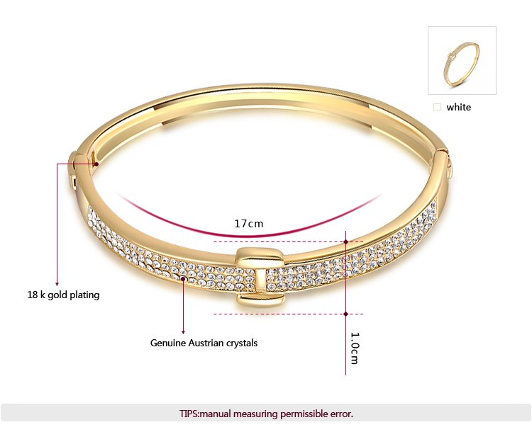 Star Beach 18K Gold Bangle