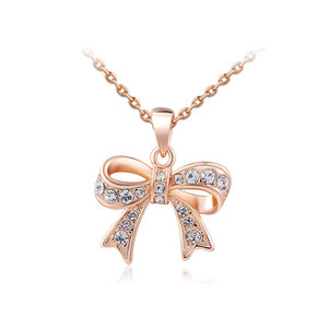 Bowknot Pendant Necklace