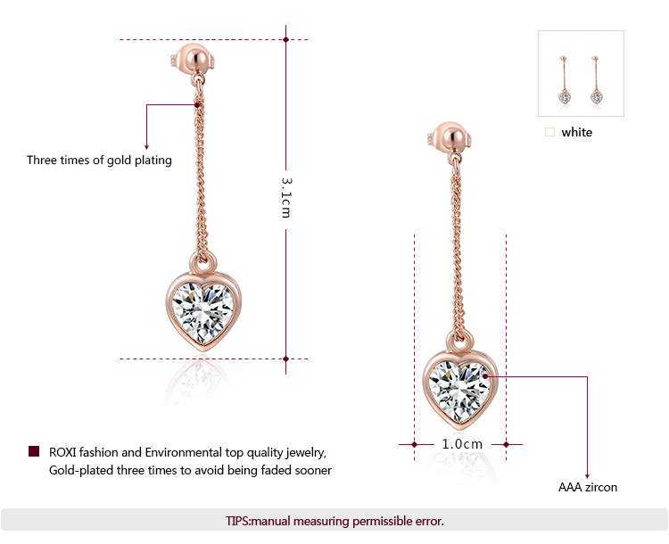 Twinkling Heart Rose Gold Set -2
