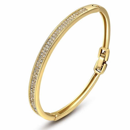 Coast Starlight 18K Gold Bangle