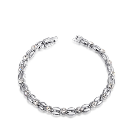 Wheat Granules Bracelet - White