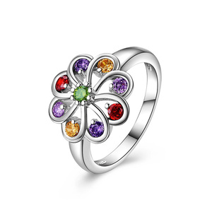 Phoenix Tail White Gold Ring
