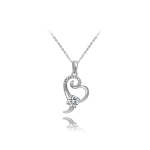 Tentacle Heart Pendant Necklace