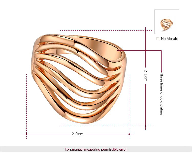 Thinking Rose Gold Ring