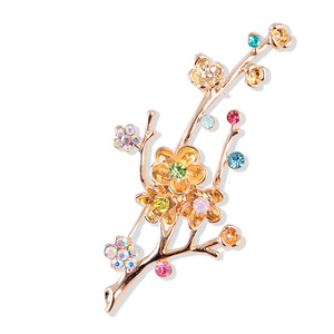 Plum Flower Branche Brooch
