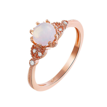 Call of Love Moonstone Ring