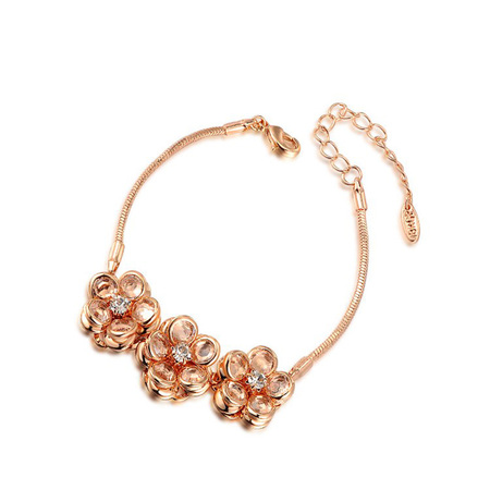 Three Flower Bracelet