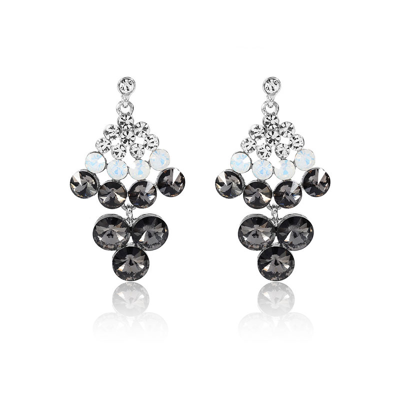 7 Layers Diamond Anniversary Gift Earrings