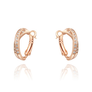 Intersect Ear Clip Earrings