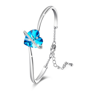Telesthesia Blue Heart Bangle