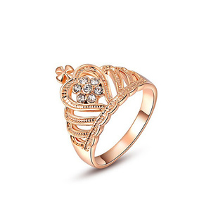 Fine Crown Rose Gold Ring
