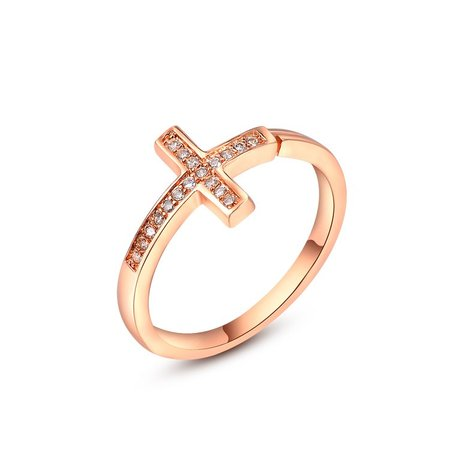 Cross Openings Ring