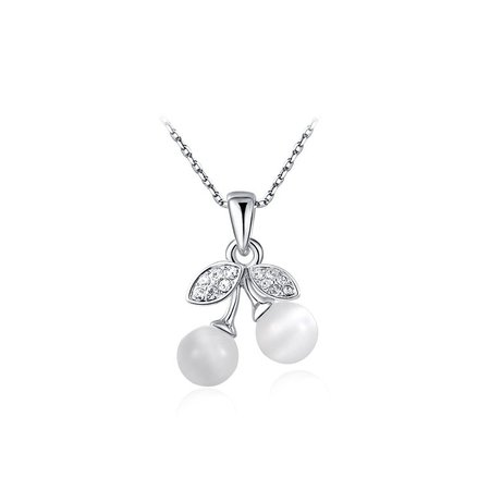 Pearl Fruit Pendant Necklace