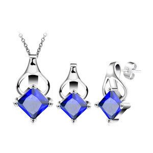 Princess Sapphire Inversion Heart Set