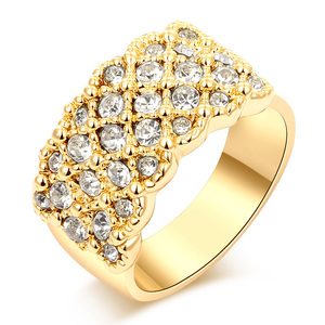 Group Stars Ring - Yellow
