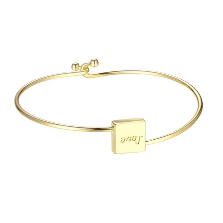 Square Love Bangle
