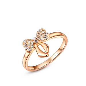 Sweet Date Bowknot Ring