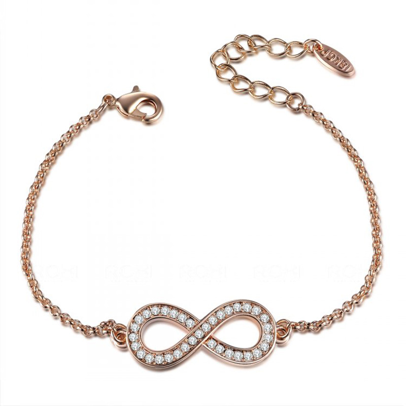 Infinite Love Bracelet - Rose