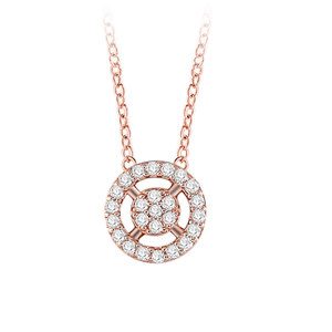 The Sun Princess Rose Gold Necklace