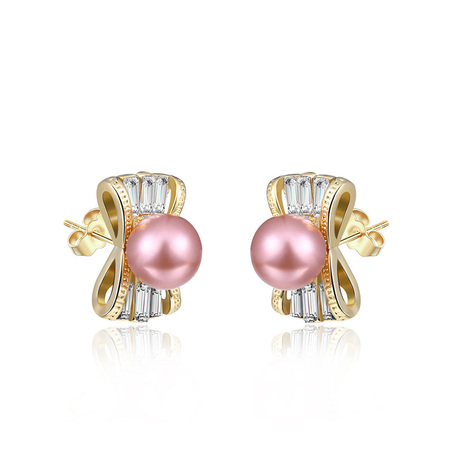 Candy Pearl Stud Earrings