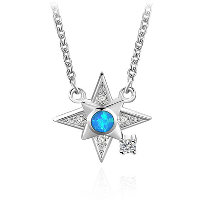 Lucky Star 925 Sterling Silver Necklace