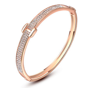 Star Beach Rose Gold Bangle