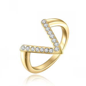 Victory Yellow Gold Ring