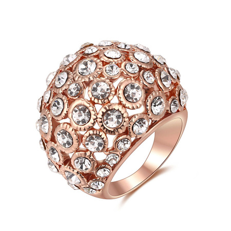 Phantom Starry Sky Rose Gold Ring