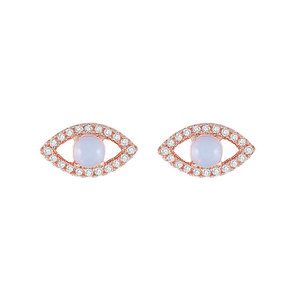 Angel Eyes Moonstone Earrings