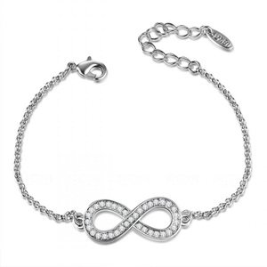 Infinite Love Bracelet - White