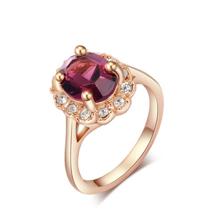 Starlight Reflection Ring - Red