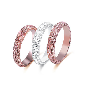 Snakeskin Two-Tone Ring Set