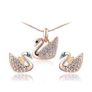 Swan Diamond Set