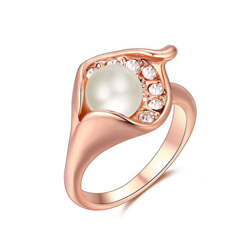 Margaritana Rose Gold Ring