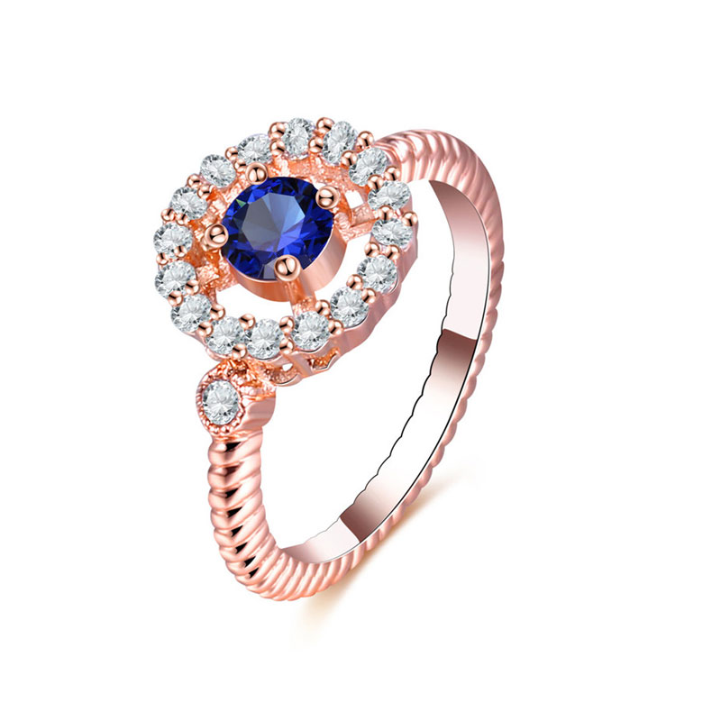 Embrace The Sea Rose Gold Ring