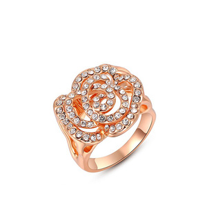 Cut Out Rose Flower Ring