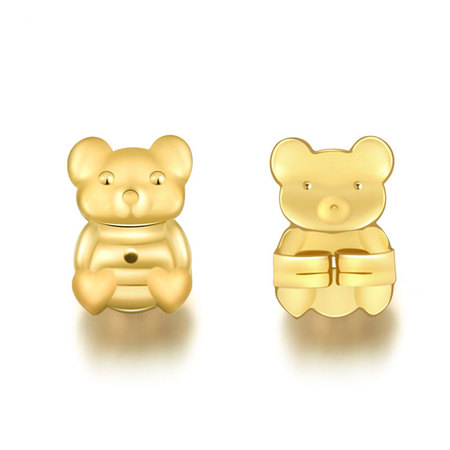 Magic Bax Stud Earrings Buckle (Clip)