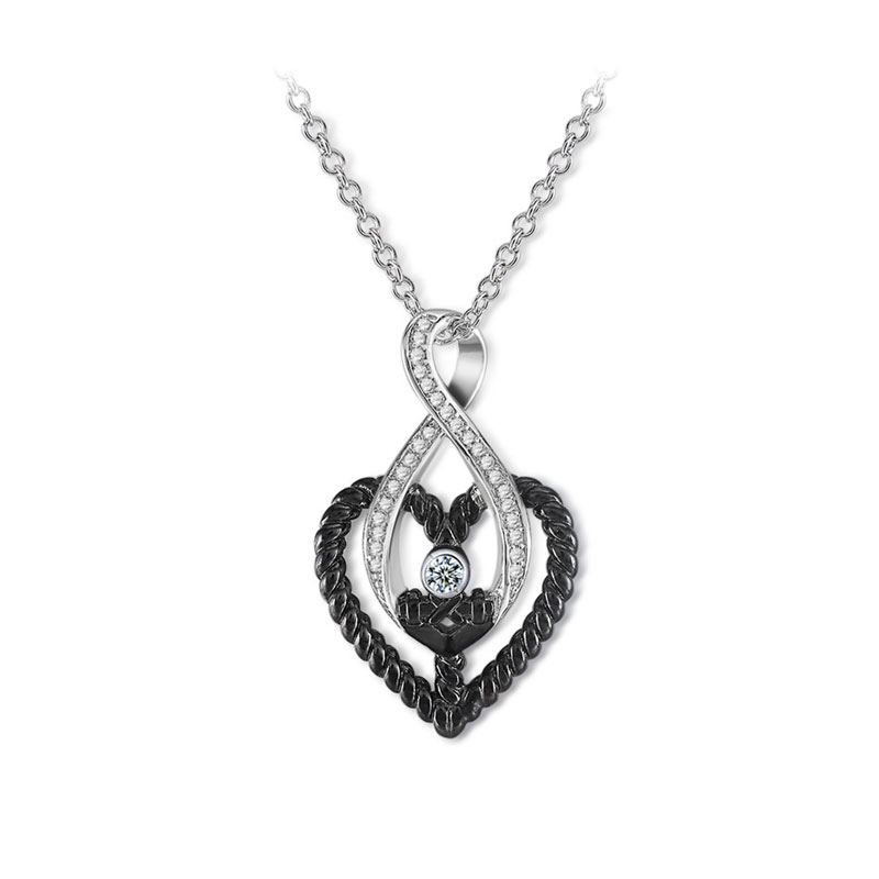 Endless Love Two-Tone Necklace