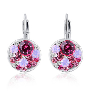 Heaps Ruby Clip Earrings