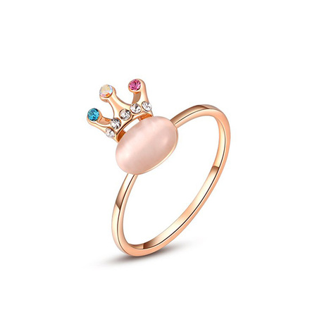 The King Opal Rose Gold Ring