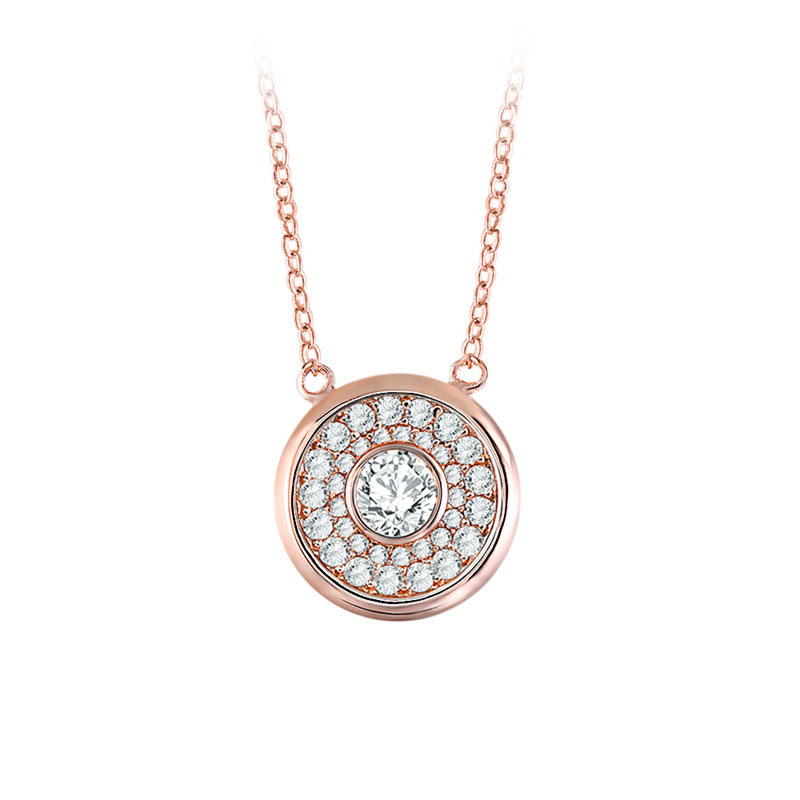 Shining Stars Rose Gold Necklace