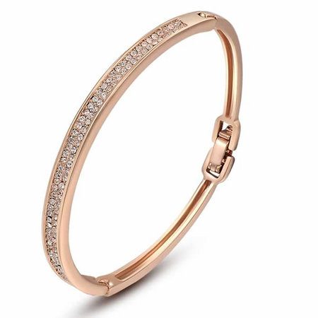 Coast Starlight Rose Gold Bangle