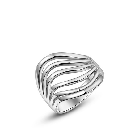 Thinking White Gold Ring