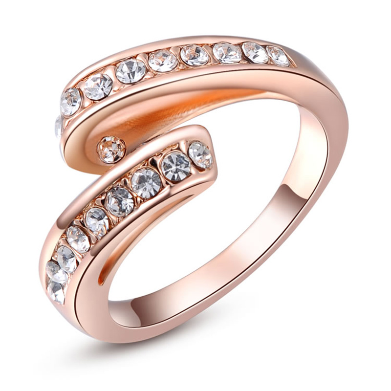 Flying Ribbon Rose Gold Ring
