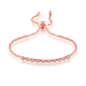 Marquise Diamond Adjustable Bracelet