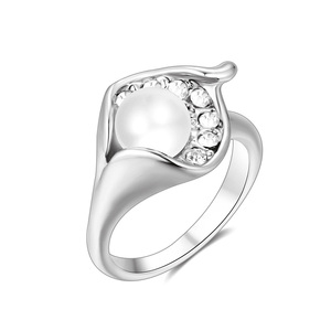 Margaritana White Gold Ring