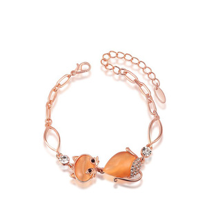 Enchanting Kitty Bracelet