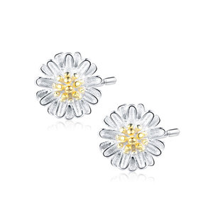 Daisy 925 Sterling Silver Stud Earrings